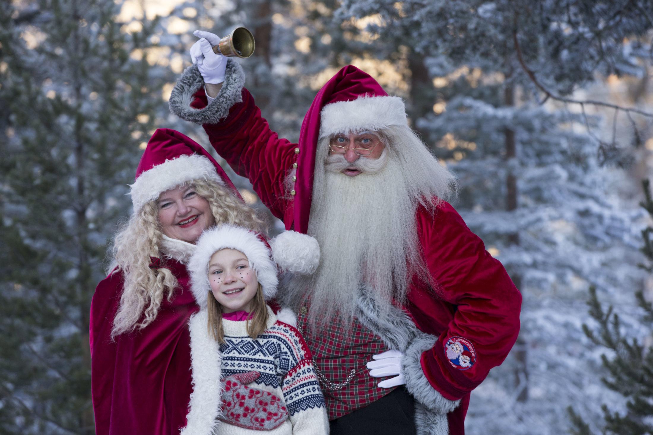 Julenissen, nissemor og Ine