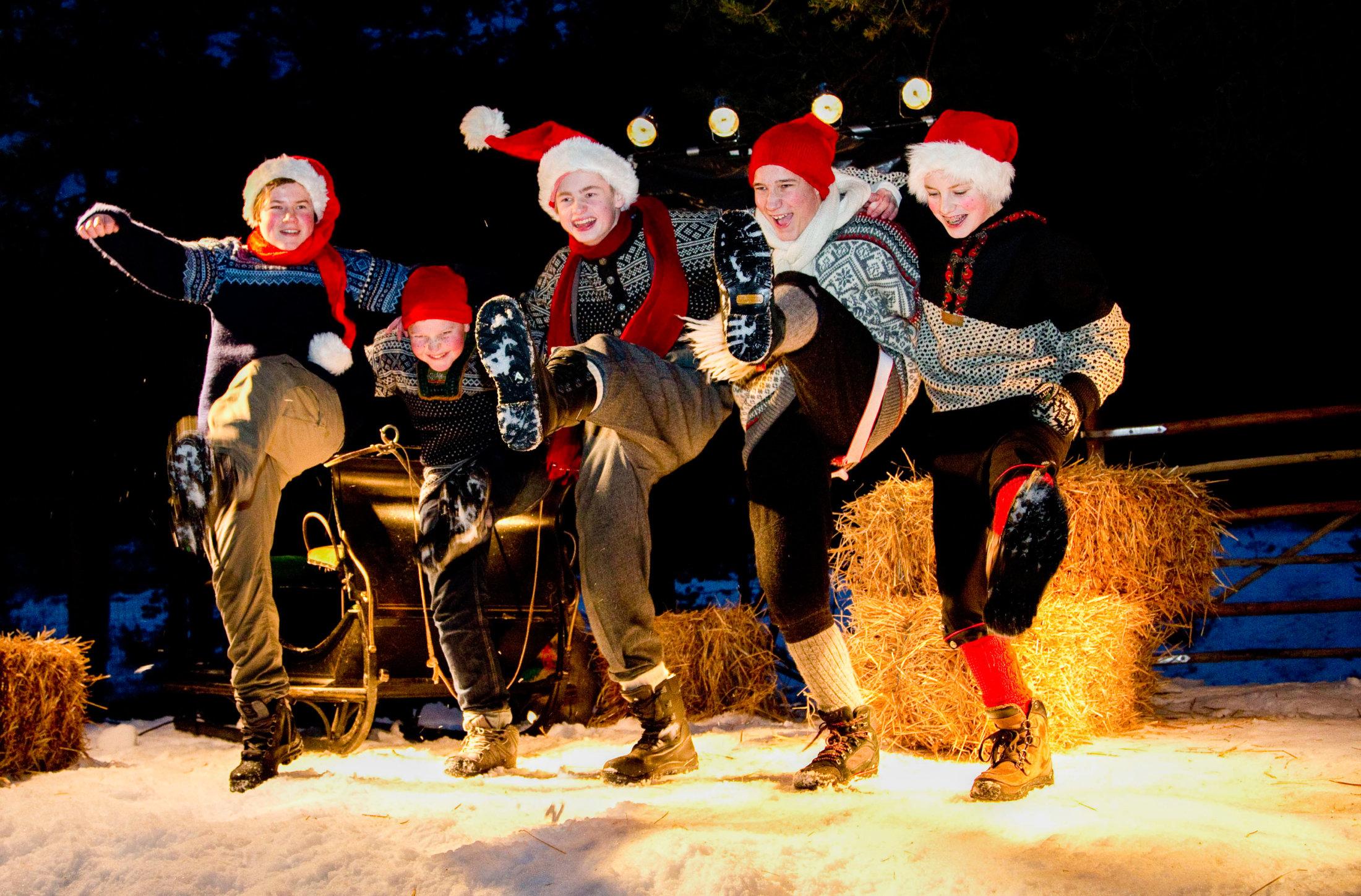 Barnas Julemarked på Savalen hotell 18 og 19 desember 2015. Foto: Geir Olsen