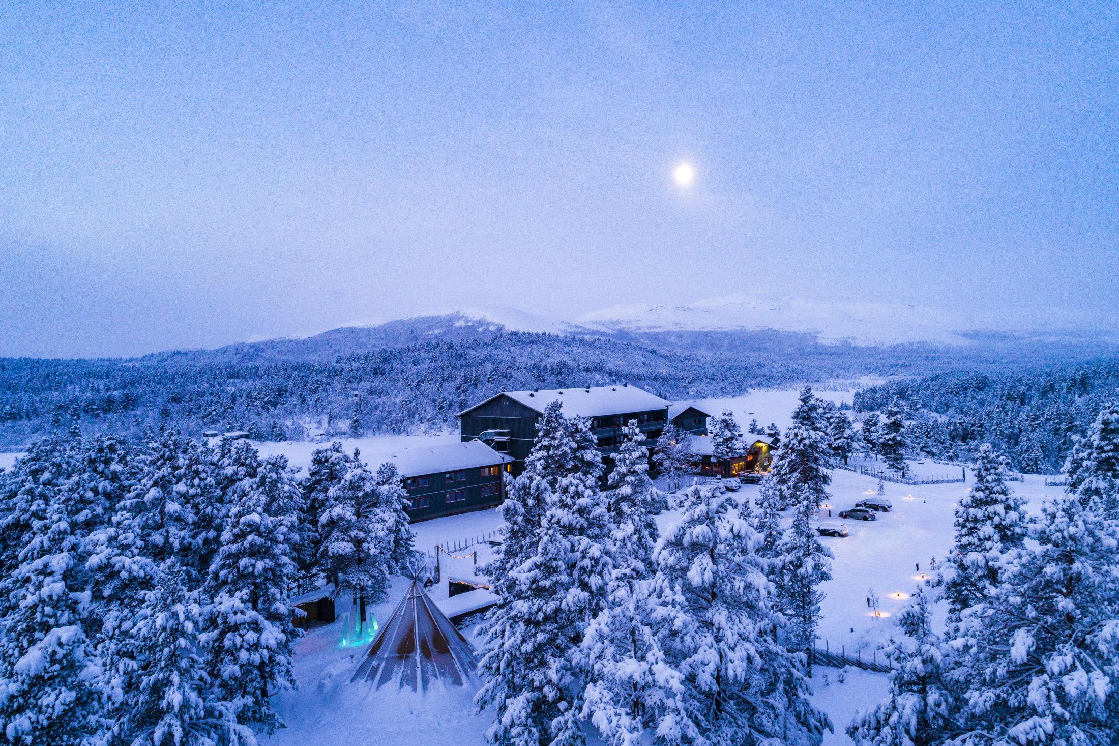 Savalen Fjellhotell & Spa • Vinterstemning 2
